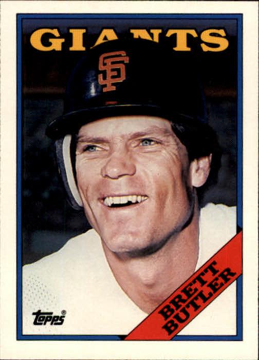 1988 Topps Traded #22T Brett Butler