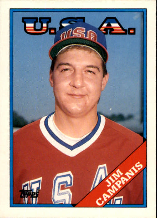 1988 Topps Traded #23T Jim Campanis OLY XRC