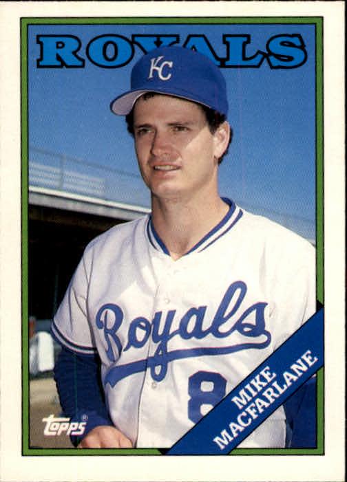 1988 Topps Traded #62T Mike Macfarlane XRC
