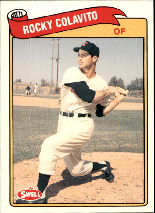 1989 Swell Baseball Greats #126 Rocky Colavito