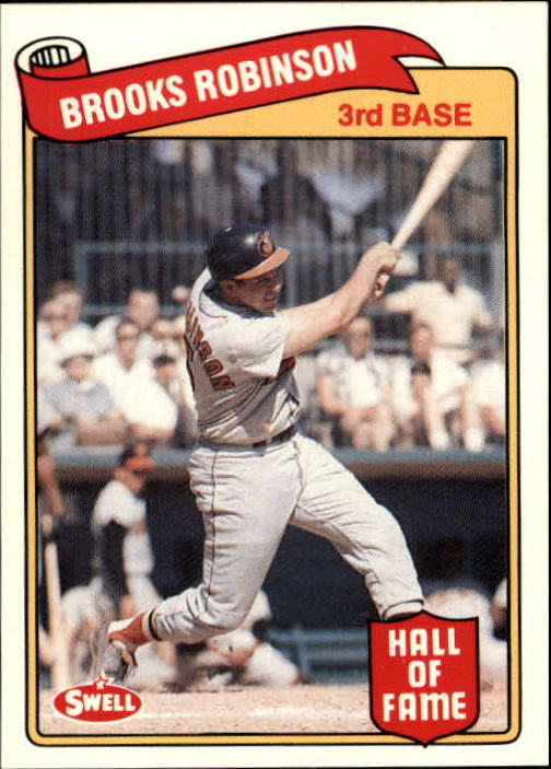 1989 Swell Baseball Greats #134 Brooks Robinson