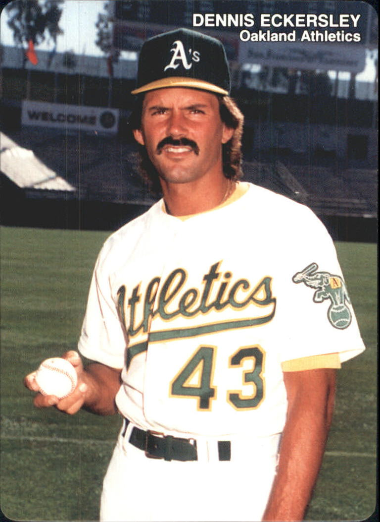 1989 A's Mother's #10 Dennis Eckersley