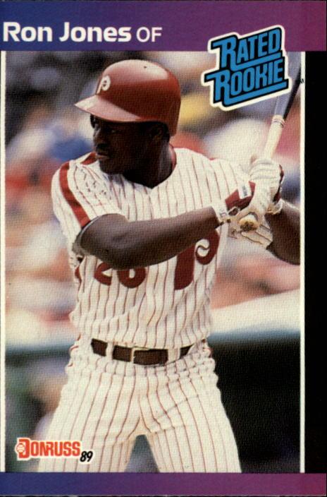 1989 Donruss #40 Ron Jones RR