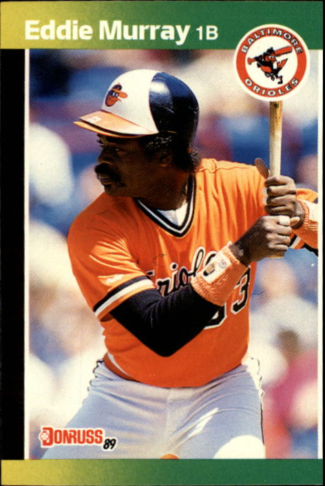 1989 Donruss #96 Eddie Murray