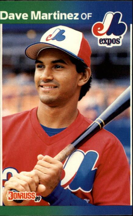 1989 Donruss #102 Dave Martinez