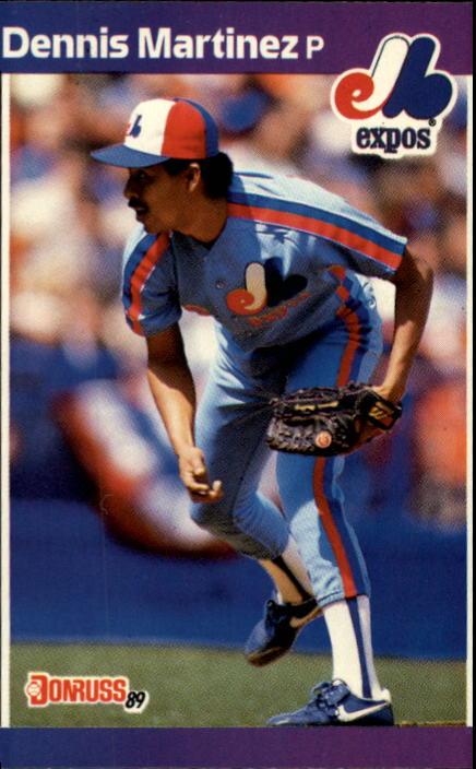 1989 Donruss #106 Dennis Martinez