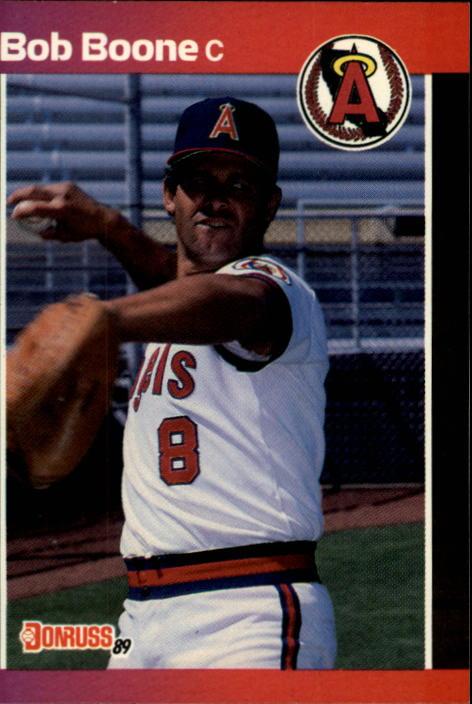 1989 Donruss #170 Bob Boone