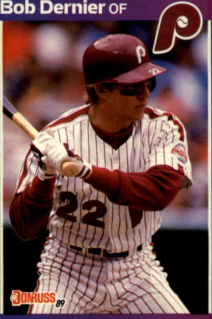 1989 Donruss #430 Bob Dernier