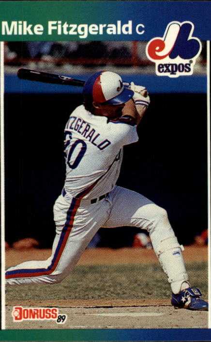 1989 Donruss #456 Mike R. Fitzgerald