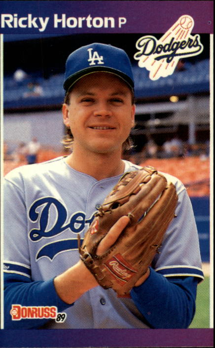 1989 Donruss #582 Ricky Horton DP
