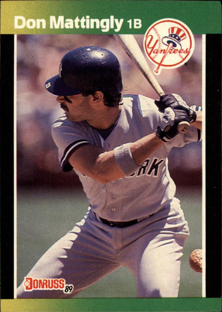 1989 Donruss Baseball's Best #1 Don Mattingly
