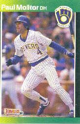 1989 Donruss Baseball's Best #15 Paul Molitor