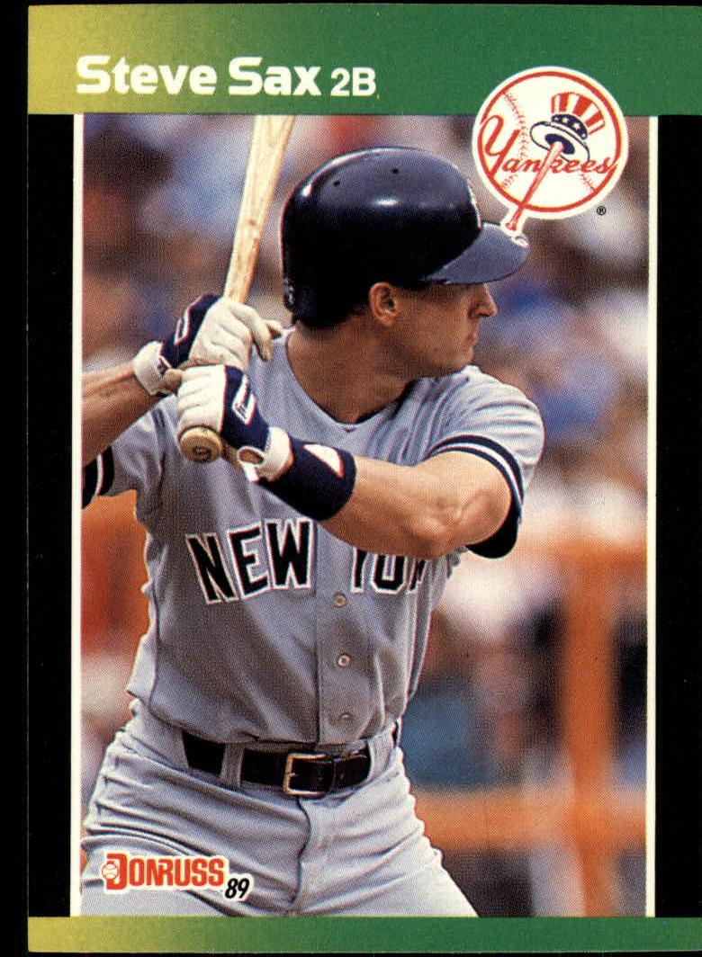 1989 Donruss Baseball's Best #20 Steve Sax