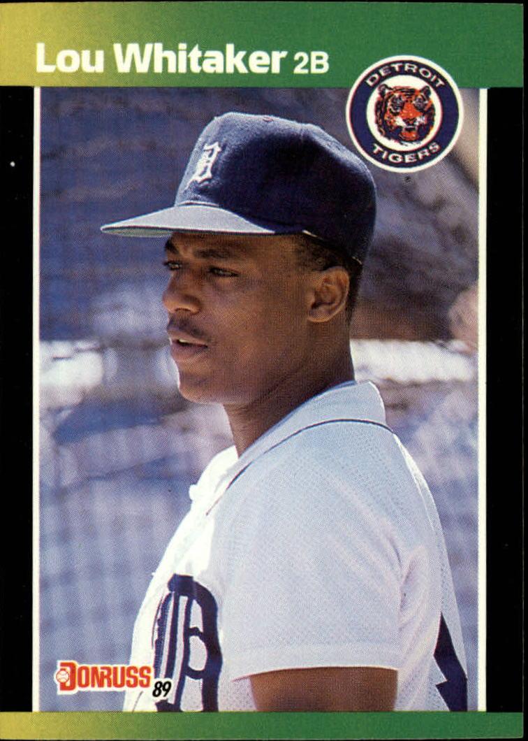 1989 Donruss Baseball's Best #35 Lou Whitaker