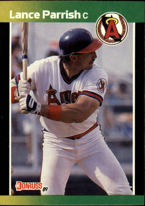 1989 Donruss Baseball's Best #59 Lance Parrish