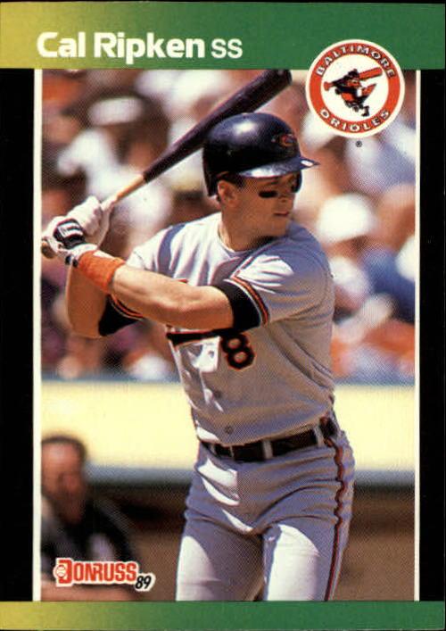 1989 Donruss Baseball's Best #142 Cal Ripken