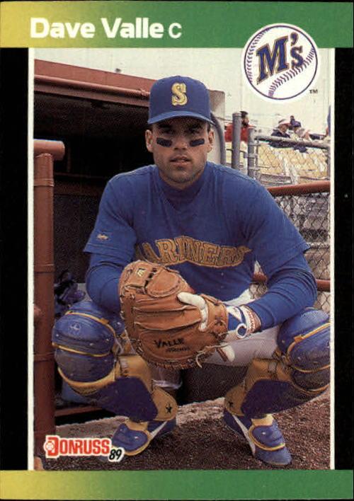 1989 Donruss Baseballs Best 248 Dave Valle Nm Mt