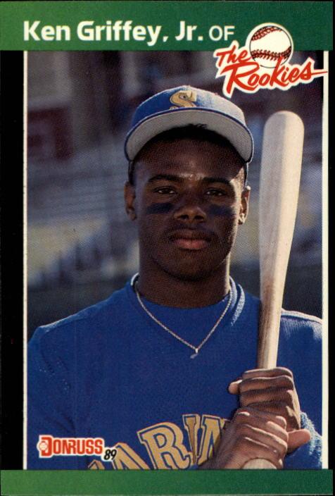 1989 Donruss Rookies #3 Ken Griffey Jr.