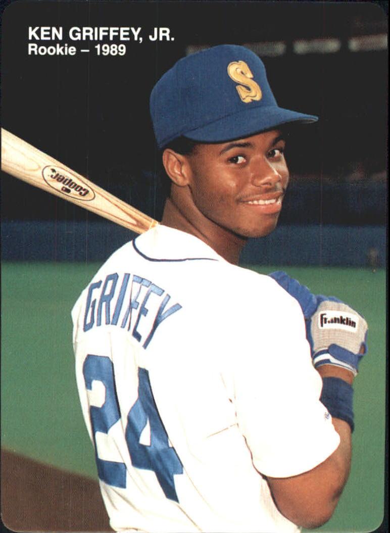 1989 Mother's Griffey Jr. #4 Ken Griffey Jr./(Looking over/shoulder with bat)