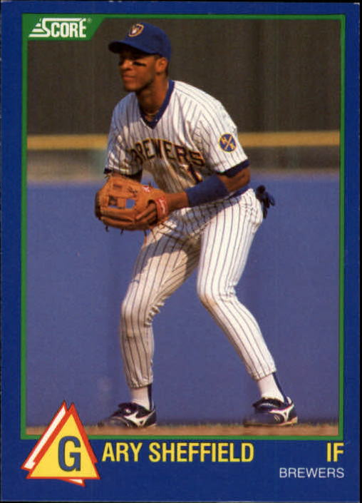 1989 Score Hottest 100 Rookies 10 Gary Sheffield Nm Mt