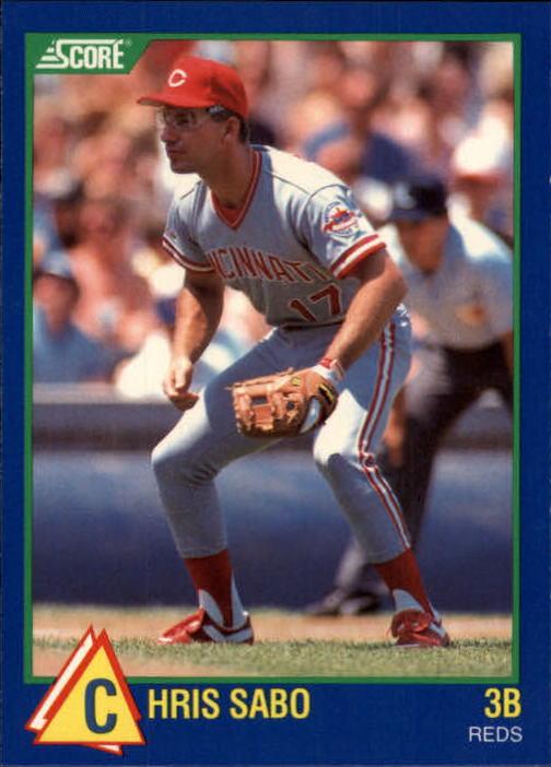 1989 Score Hottest 100 Rookies #76 Chris Sabo