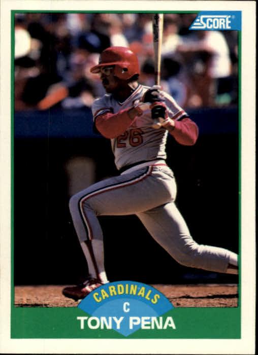 1989 Score #36 Tony Pena