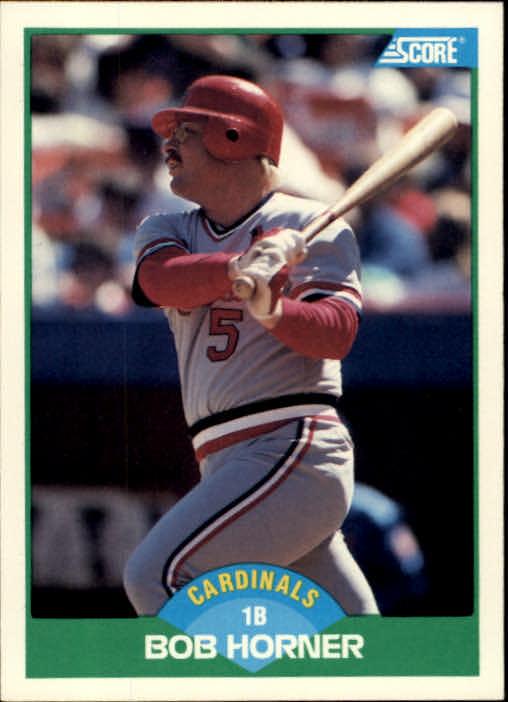 1989 Score #68 Bob Horner