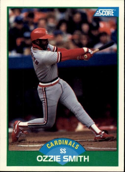 Details About 1989 Score St Louis Cardinals Baseball Card 80 Ozzie Smith