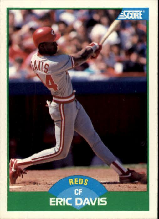 1989 Score #109 Eric Davis