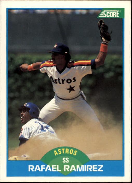 1989 Score #113 Rafael Ramirez