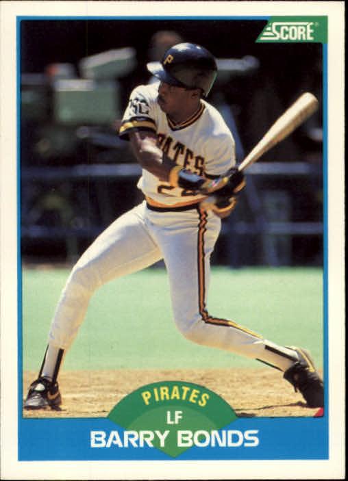 1989 Score #127 Barry Bonds