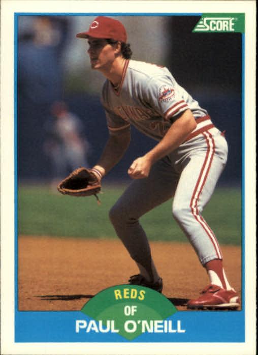 1989 Score #206 Paul O'Neill