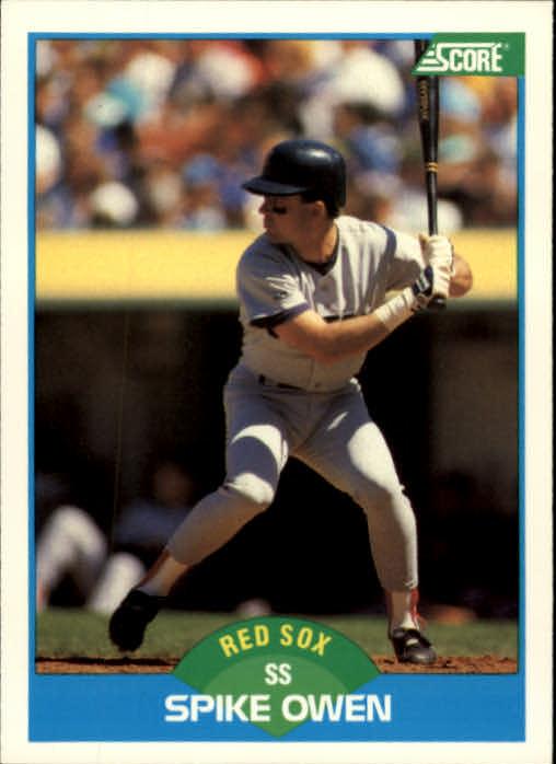 1989 Score #218 Spike Owen