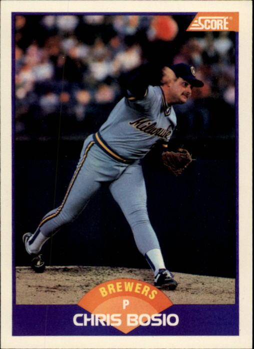 1989 Score #243 Chris Bosio
