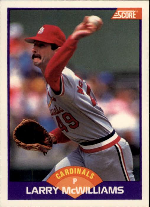 1989 Score #259 Larry McWilliams