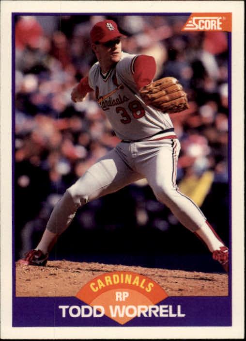 1989 Score #265 Todd Worrell