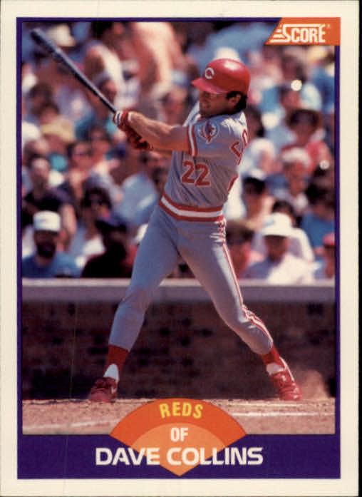 1989 Score #267 Dave Collins