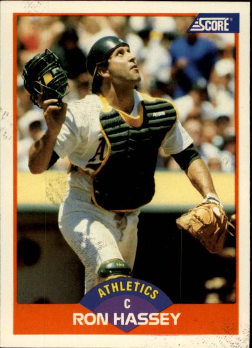 1989 Score #334 Ron Hassey