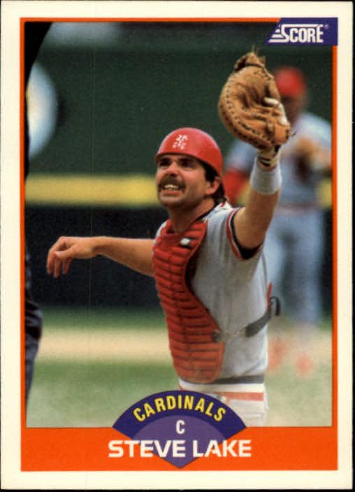 1989 Score #363 Steve Lake