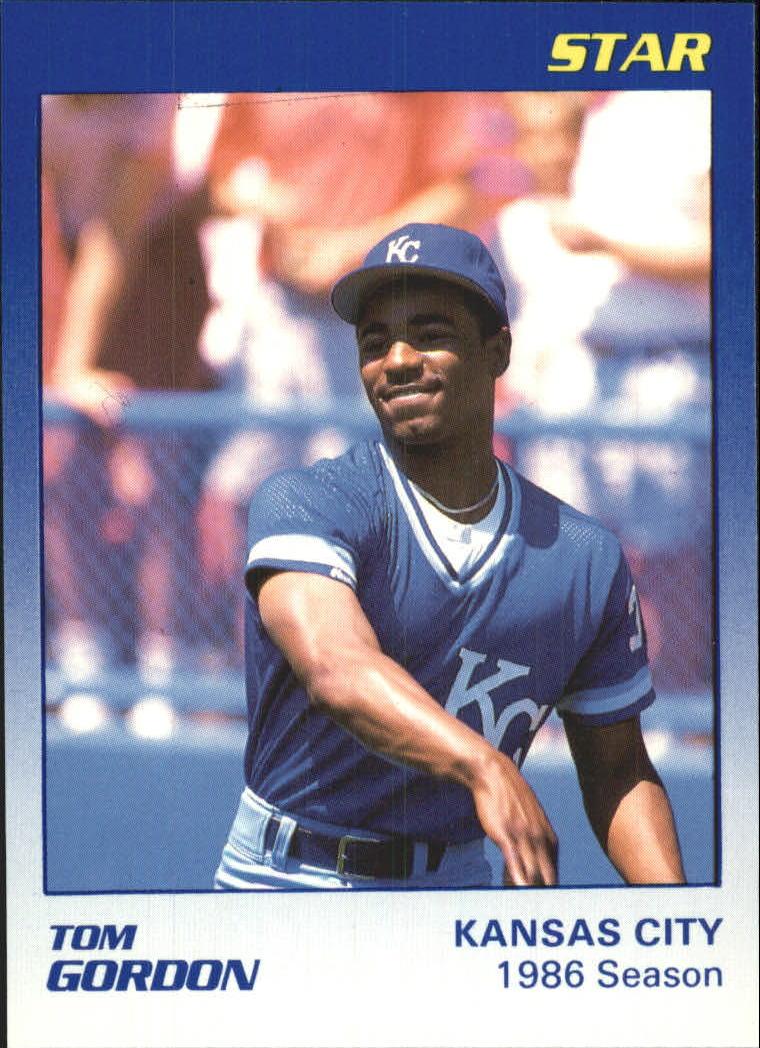 1989 Star Gordon #3 Tom Gordon/1986 Season