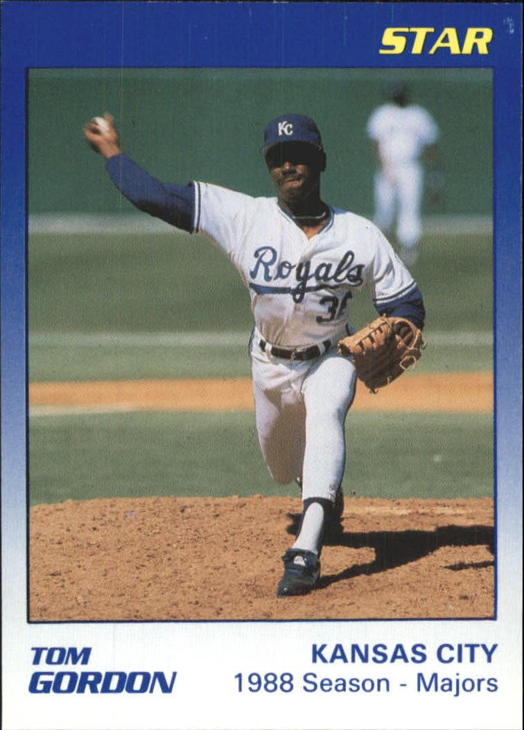 1989 Star Gordon #6 Tom Gordon/1988 Season - Majors