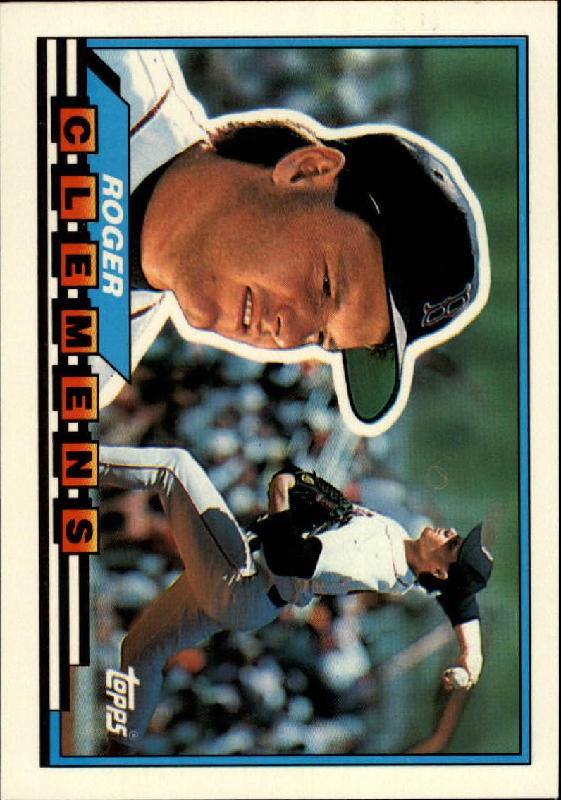 1989 Topps Big #42 Roger Clemens