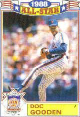 1989 Topps Glossy All-Stars #21 Dwight Gooden