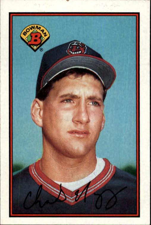 1989 Bowman #73 Charles Nagy RC