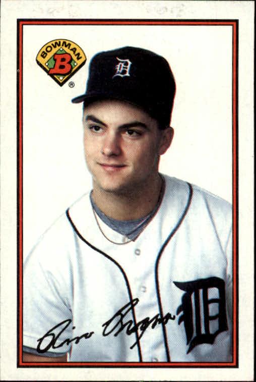 1989 Bowman #102 Rico Brogna RC