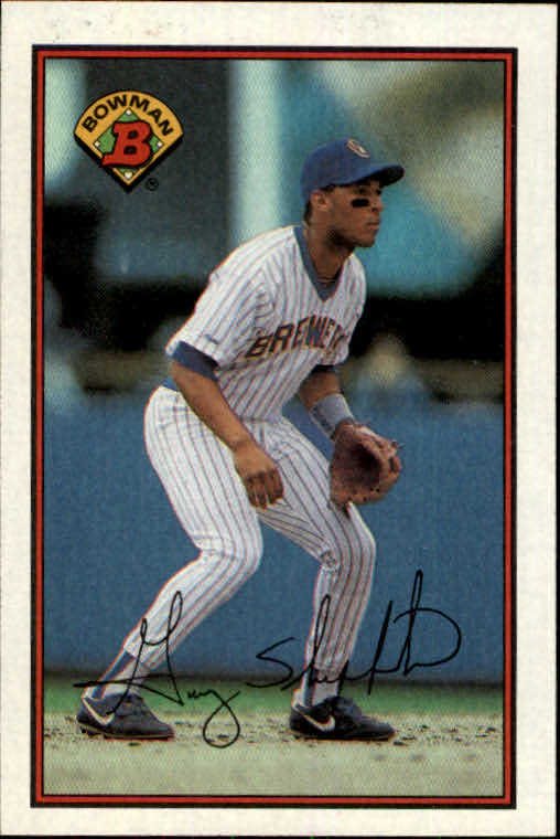 1989 Bowman #142 Gary Sheffield RC
