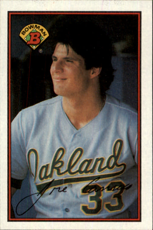 1989 Bowman #201 Jose Canseco