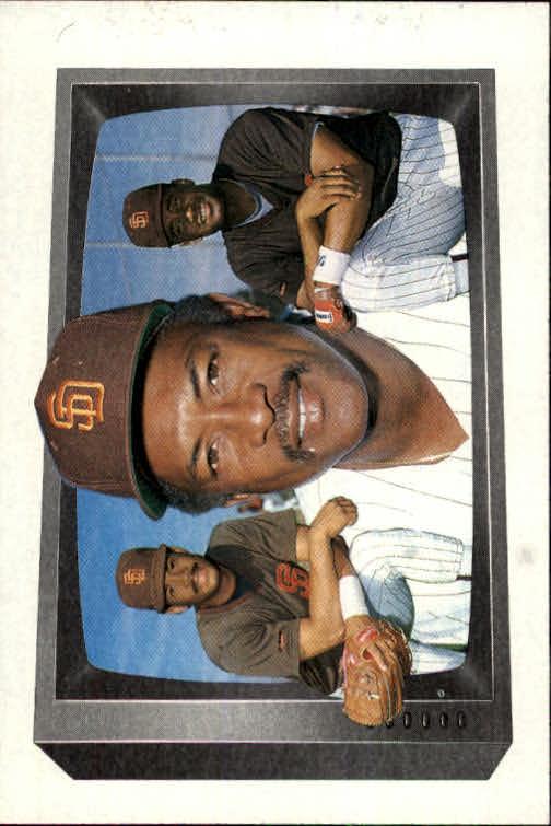 1989 Bowman #258 Roberto Alomar w/Dad