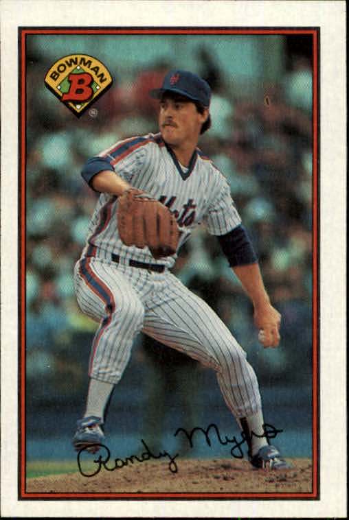 1989 Bowman #374 Randy Myers