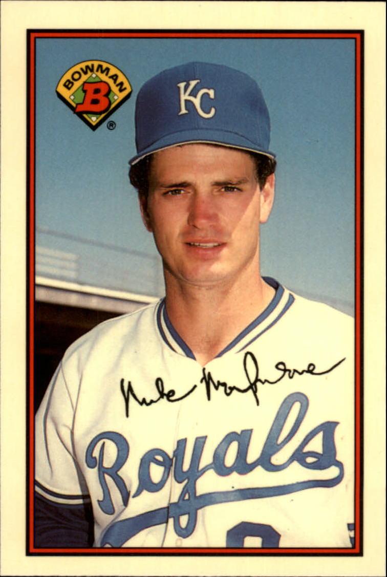 1989 Bowman Tiffany #118 Mike Macfarlane